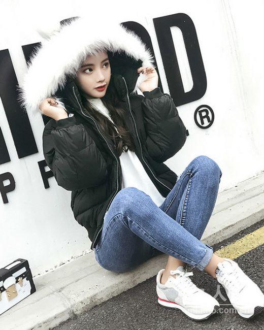凛冽降温天,治愈系女生最爱超大毛领外套